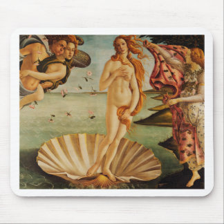 The Birth of Venus by Sandro Botticelli Mouse Pad
