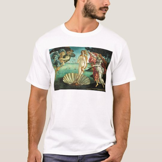 The Birth of Venus by Sandro Botticelli T-Shirt