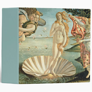 The Birth of Venus, c.1485 (tempera on canvas) 3 Ring Binder