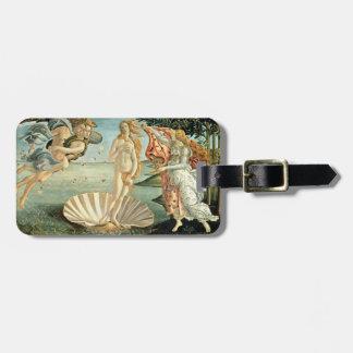 The Birth of Venus, c.1485 (tempera on canvas) Luggage Tag