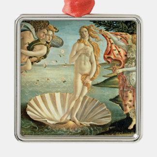 The Birth of Venus, c.1485 (tempera on canvas) Metal Ornament