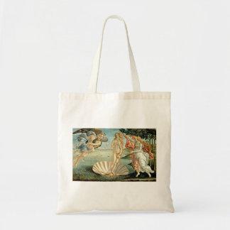 The Birth of Venus, c.1485 (tempera on canvas) Tote Bag
