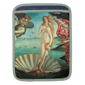The Birth of Venus - Classic Art by Botticelli iPad Sleeve