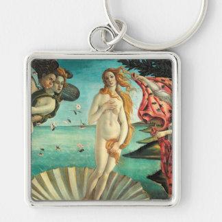 The Birth of Venus - Classic Art by Botticelli Keychain