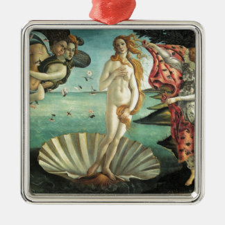 The Birth of Venus - Classic Art by Botticelli Metal Ornament