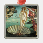 The Birth of Venus - Classic Art by Botticelli Christmas Ornaments