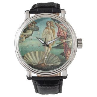 The Birth of Venus - Classic Art by Botticelli Wristwatch