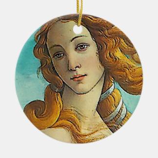 The Birth of Venus - Close up Ceramic Ornament