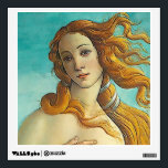 """The Birth of Venus - Close up Wall Decal<br><div class=""""desc"""">The Birth of Venus - Close up. The Birth of Venus (Italian: Nascita di Venere) is a 1486 painting by Sandro Botticelli. Botticelli was commissioned to paint the work by the Medici family of Florence, specifically Lorenzo di Pierfrancesco de&#39; Medici under the influence of his cousin Lorenzo de&#39; Medici, close...</div>"""
