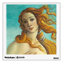 The Birth of Venus - Close up Wall Decal