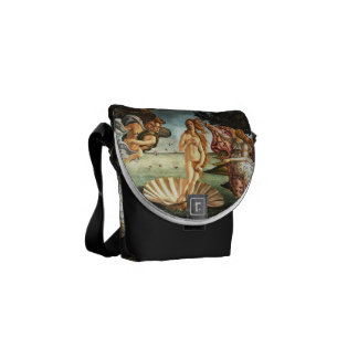 The Birth Of Venus Courier Bag