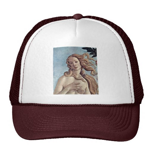 The Birth Of Venus Detail By Botticelli Sandro Hats