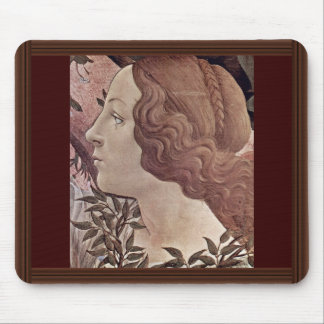 The Birth Of Venus Detail By Botticelli Sandro Mouse Pads