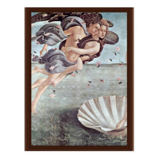 The Birth Of Venus Detail By Botticelli Sandro Post Cards