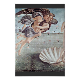 The Birth Of Venus Detail By Botticelli Sandro Posters