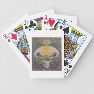 The Birth of Venus (ink and W/c on paper) (see 133 Bicycle Playing Cards