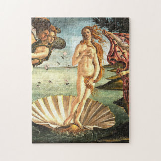 The Birth Of Venus Jigsaw Puzzle