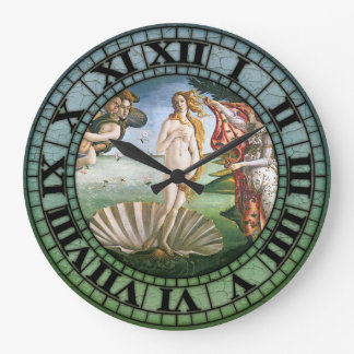 The Birth Of Venus Large Clock