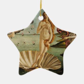 The Birth of Venus - Sandro Botticelli Ceramic Ornament