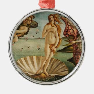 The Birth of Venus - Sandro Botticelli Metal Ornament