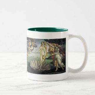 The Birth of Venus Two-Tone Coffee Mug