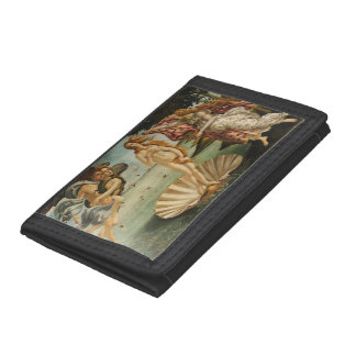 The Birth of Venus Trifold Wallet