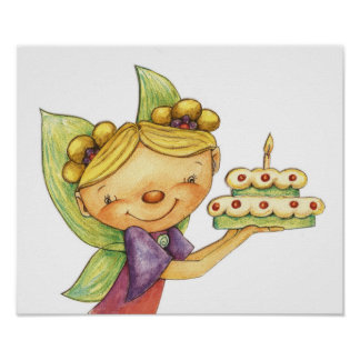 The Birthday Fairy Poster