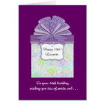 The Birthday Gift 50th Birthday Greeting Card
