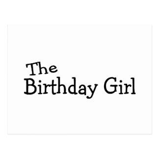 The Birthday Girl Postcard