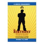 The Birthday Movie Invitation (Boy)