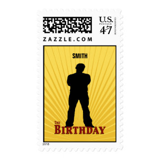 The Birthday Movie Stamp (Boy)