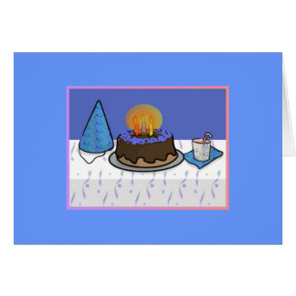 The Birthday Party Greeting Card