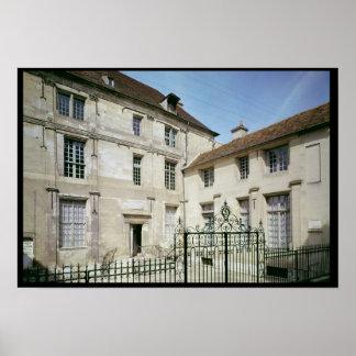 The birthplace of Jean de la Fontaine Poster