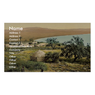 The birthplace of Mary Magdalene, Magdala, Holy La Double-Sided Standard Business Cards (Pack Of 100)
