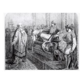 The Bishop of Salisbury before Saladin Postcard