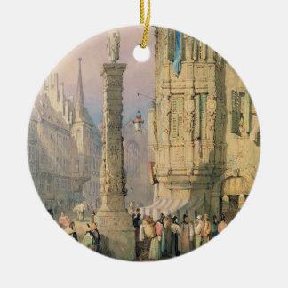 The Bishop's Palace, Wurzburg Ceramic Ornament