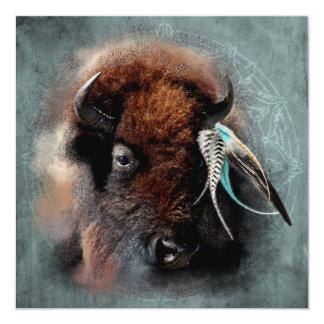 The Bison - Inviation, Invite Card