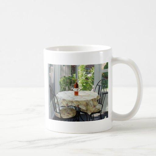 The Bistro Table Classic White Coffee Mug
