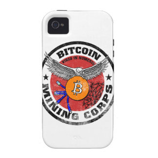 The Bitcoin Mining Corps - Gritty Version iPhone 4/4S Cases