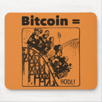The Bitcoin Ride Mouse Pad