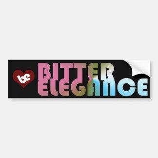 The Bitter Bump Car Bumper Sticker