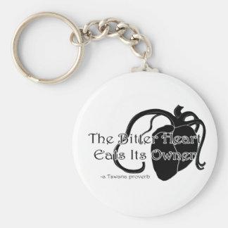 The Bitter Heart Basic Round Button Keychain