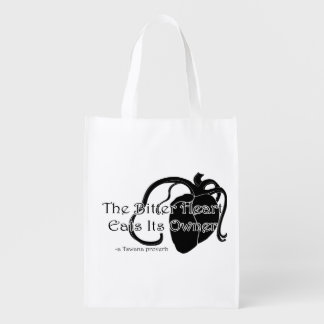 The Bitter Heart Grocery Bag