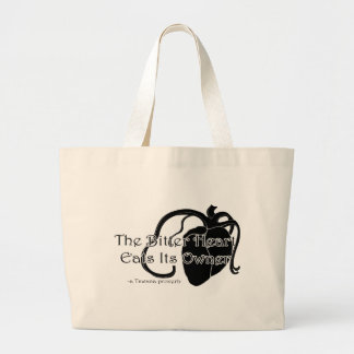 The Bitter Heart Large Tote Bag