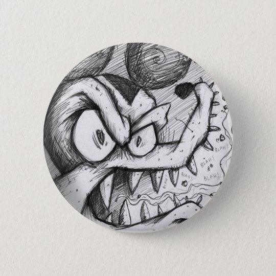 The Bitter Rat Blues Pinback Button