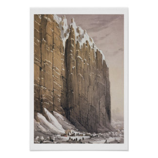 The Bivouac, Cape Seppings, from 'Ten Coloured Vie Print