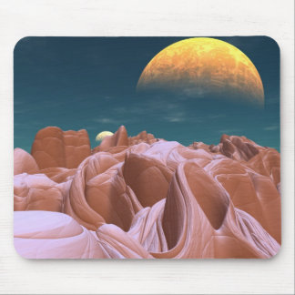 The Bizarre Canyons of Azira Mouse Pad