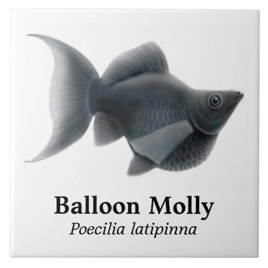 The Black Balloon Molly Tile