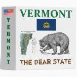 The Black Bear STaTE: Vermont Binder