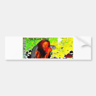 'The Black Bible': Adam & Eve Bumper Sticker